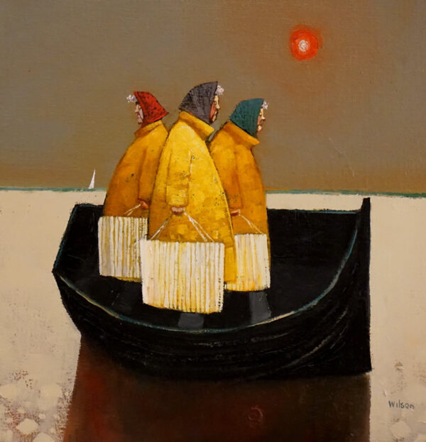 The Shoppers by Gordon Wilson