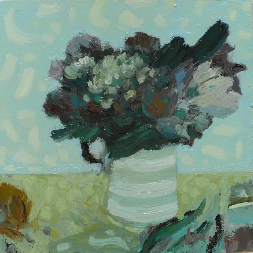 Flowers in Summertime, Stripey Jugedited