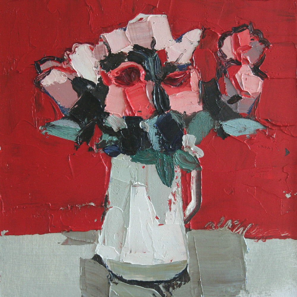 Roses, mhairi mcgregor, greengallery