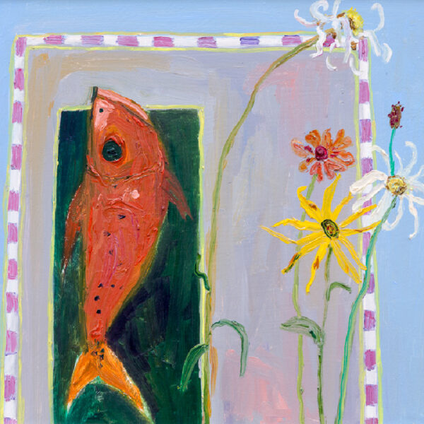 Fish with Helenium, David Smith, Greengallery