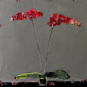 Orchid against Deep Grey, Alison McWhirter, Greengallery