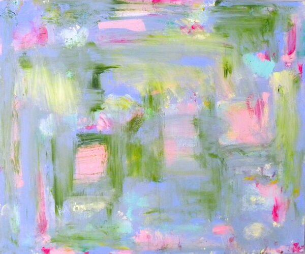 Reverie;Waterlilies at Samye-Ling, Alison McWhirter, Greengallery