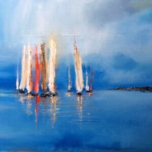 Reflections on a Summers Day, Rosanne Barr, Greengallery