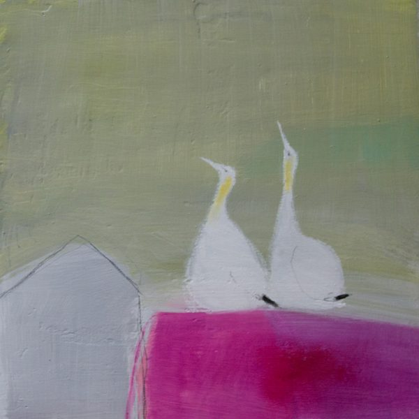 2 Gannets, Andrew Squire, Greengallery
