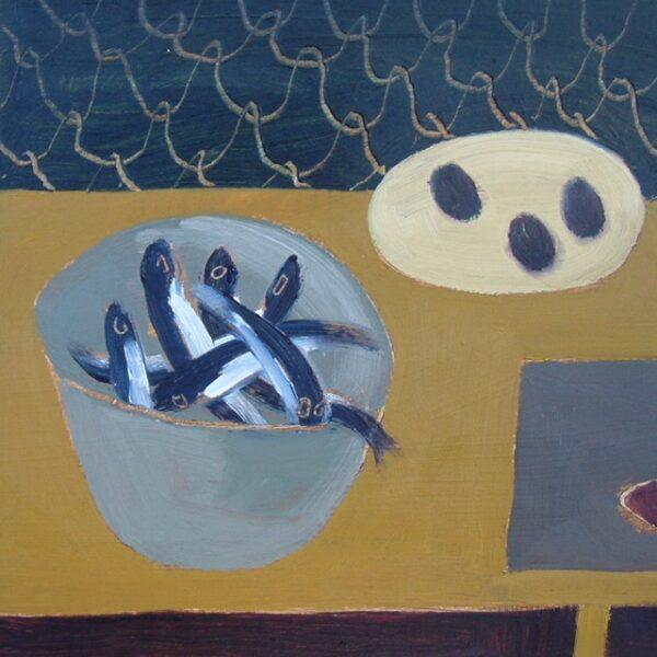 Mustard Sprat Dish, Fiona Macrae, Greengallery