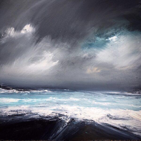 Storm : Sumburgh, Ruth Brownlee, Greengallery
