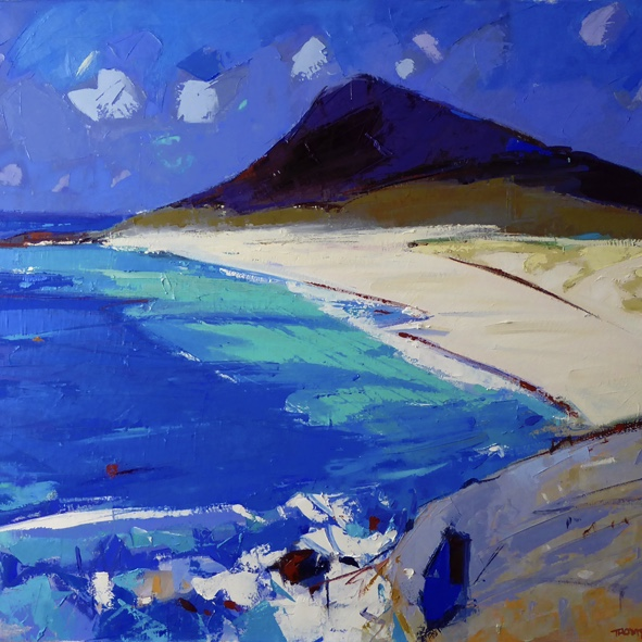Above the Bay, Northton, Harris, Marion Thomson, Greengallery