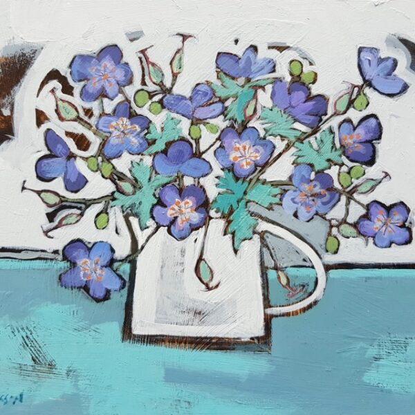 Cranesbill, Alison Dickson, Greengallery