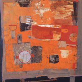 Rustic Table by Margaretann Bennett RSW