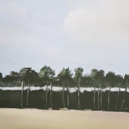 Tentsmuir Trees III by Fiona Clasen