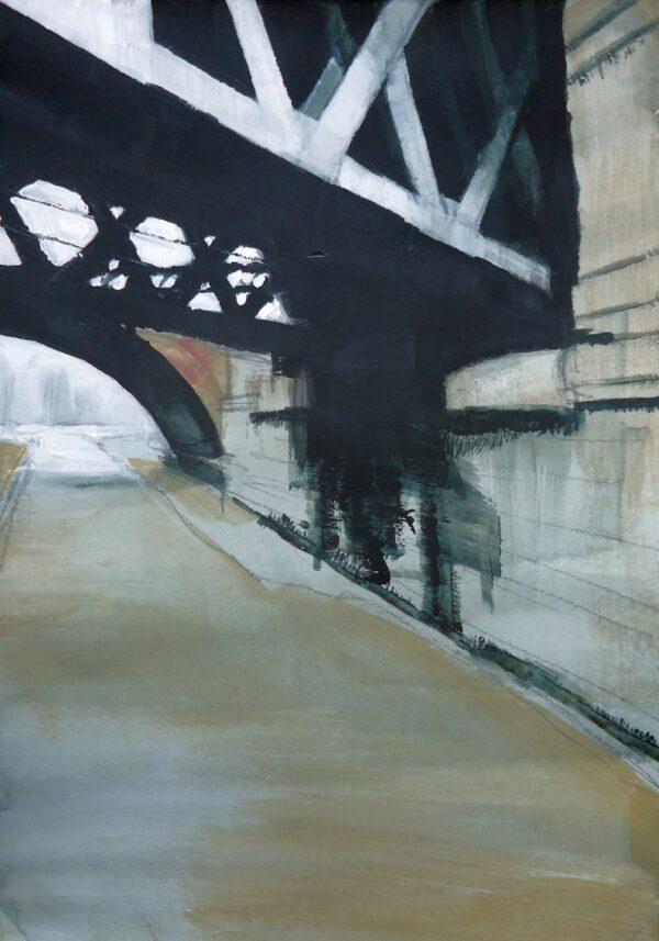 Bridges, River Esk, Lindsey Lavender, Greengallery