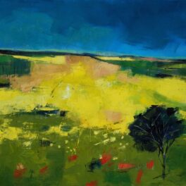 Yellow Field Interrupted by Tom Sutton-Smith