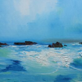 The North Atlantic Swell by Rosanne Barr