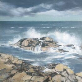 Shoreline at Usan by Jackie Gardiner