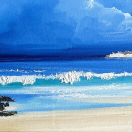 Hebridean Beach by Rosanne Barr