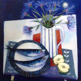 Mackerel and Moonlight by Mairi Stewart