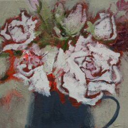 Roses and Astrantia by Helen Tabor