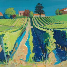 Saint Macaire Vineyards by Carol Moore