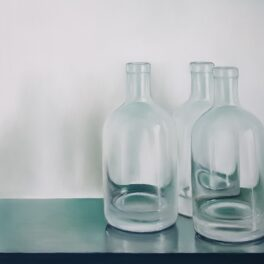 Three Whisky Bottles by Fiona Clasen