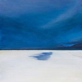 Velvet Sky, Luskentyre, Isle of Harris by Anne Skinner