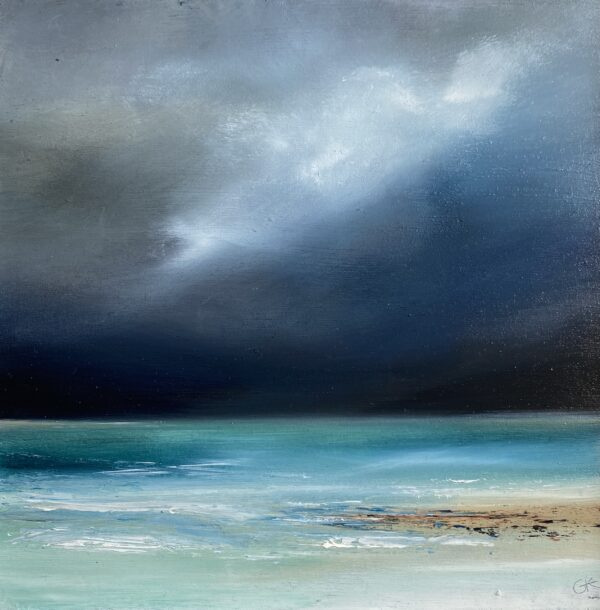 Gill Knight, Memory of Luskentyre, Greengallery