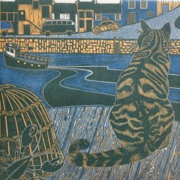 Archie the Harbour Cat by Babs Pease