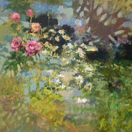 Garden in July by John McClenaghen