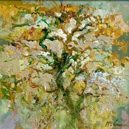 Tree in Blossom by John McClenaghen