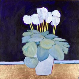 Cyclamen Celebration Series #2 by Louise Turnbull