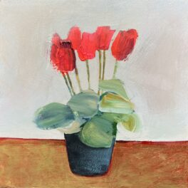 Cyclamen Celebration Series #1 by Louise Turnbull