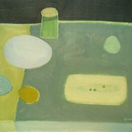 Lime Pea Pod by Fiona Macrae
