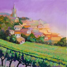 Saint Emilion Afternoon by Carol Moore