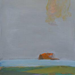 Bass Rock by Ronald F Smith RSW RGI