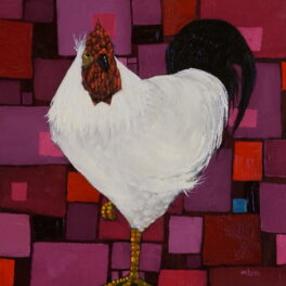 The Cock and a Kaleidoscopic Blind by Gordon Wilson