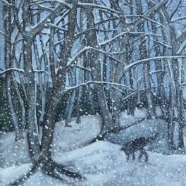 Sniff in Snow by Rosie Playfair
