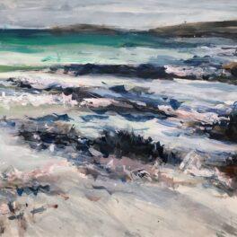Rocky Shore, Sanna by Pete Morrison