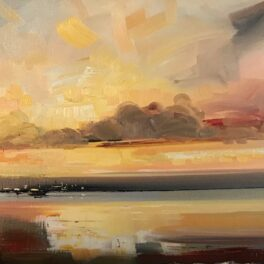 A Hazy Kind of Sunset by Rosanne Barr