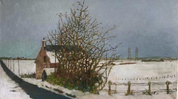 Winter on the Carse, Stuart Moir, Greengallery