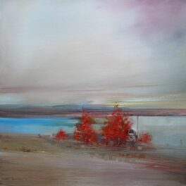 Trees Lining the Estuary by Rosanne Barr