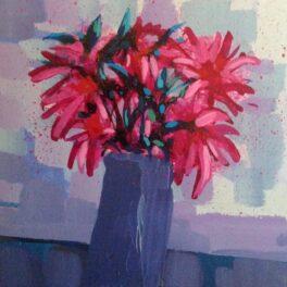 Straw Flowers by Mairi Stewart