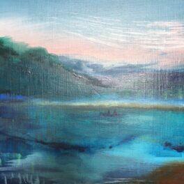 Loch Lubnaig Canoes by Orla Stevens