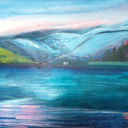 Winter on Loch Lomond by Orla Stevens