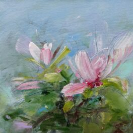 April Blooms I by Shona Harcus