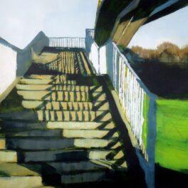 Footbridge by Lindsey Lavender