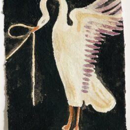 Wild Swan II by Tracey Johnston