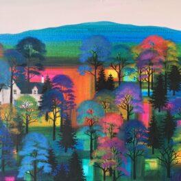 Blue Ridge Wood by Erraid Gaskell
