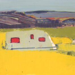 Caravan, Kintyre by Mhairi McGregor RSW