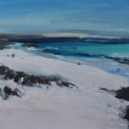 Clear Water, Iona by Pete Morrison