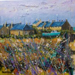 Evening Light Northumberland by Deborah Phillips
