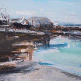Harbour, Mallaig by Pete Morrison